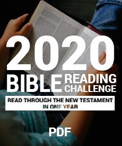 PDF OF BIBLE READING PLAN